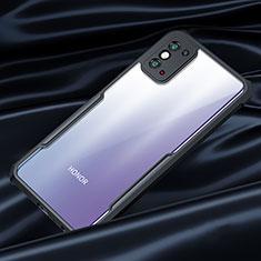 Carcasa Bumper Funda Silicona Transparente Espejo para Huawei Honor X10 Max 5G Negro