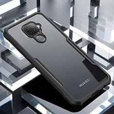 Carcasa Bumper Funda Silicona Transparente Espejo para Huawei Mate 30 Lite Negro