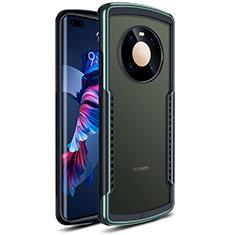 Carcasa Bumper Funda Silicona Transparente Espejo para Huawei Mate 40 Pro Verde