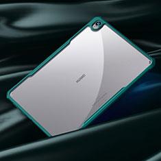 Carcasa Bumper Funda Silicona Transparente Espejo para Huawei MatePad 10.8 Cian