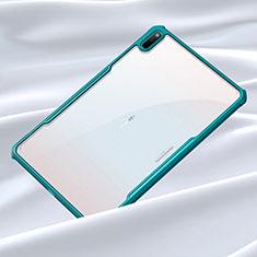 Carcasa Bumper Funda Silicona Transparente Espejo para Huawei MatePad Cian