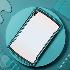 Carcasa Bumper Funda Silicona Transparente Espejo para Huawei MatePad Pro 5G 10.8 Cian