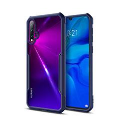 Carcasa Bumper Funda Silicona Transparente Espejo para Huawei Nova 5 Azul