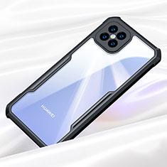 Carcasa Bumper Funda Silicona Transparente Espejo para Huawei Nova 8 SE 5G Negro
