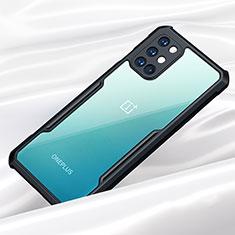 Carcasa Bumper Funda Silicona Transparente Espejo para OnePlus 8T 5G Negro