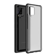 Carcasa Bumper Funda Silicona Transparente Espejo para Samsung Galaxy A42 5G Negro