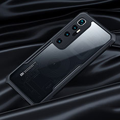 Carcasa Bumper Funda Silicona Transparente Espejo para Xiaomi Mi 10 Ultra Negro