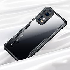 Carcasa Bumper Funda Silicona Transparente Espejo para Xiaomi Mi 10T 5G Negro