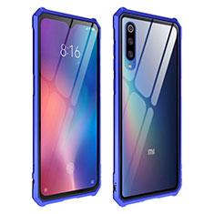 Carcasa Bumper Funda Silicona Transparente Espejo para Xiaomi Mi 9 Pro 5G Azul