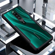 Carcasa Bumper Funda Silicona Transparente Espejo para Xiaomi Redmi 8 Negro