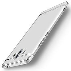 Carcasa Bumper Lujo Marco de Metal y Plastico Funda M01 para Huawei Mate 10 Plata