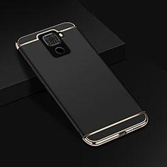 Carcasa Bumper Lujo Marco de Metal y Plastico Funda M01 para Huawei Mate 30 Lite Negro