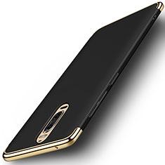 Carcasa Bumper Lujo Marco de Metal y Plastico Funda M01 para Huawei Mate 9 Pro Negro