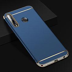 Carcasa Bumper Lujo Marco de Metal y Plastico Funda T01 para Huawei Honor 20 Lite Azul