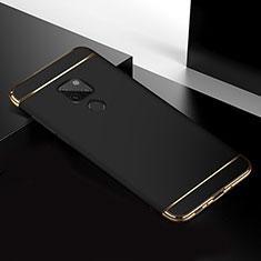 Carcasa Bumper Lujo Marco de Metal y Plastico Funda T02 para Huawei Mate 20 Negro