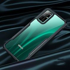 Carcasa Bumper Silicona Transparente Espejo para Huawei Honor 30S Negro