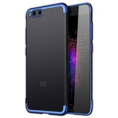 Carcasa Bumper Silicona Transparente Gel para Xiaomi Mi Note 3 Azul