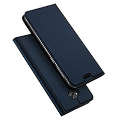 Carcasa de Cuero Cartera con Soporte para Asus Zenfone 4 Selfie ZD553KL Azul