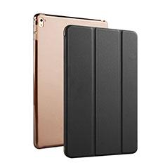 Carcasa de Cuero Flip con Soporte para Apple iPad Pro 9.7 Negro