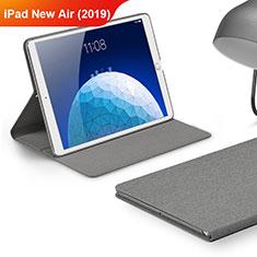 Carcasa de pano Cartera con Soporte para Apple iPad Air 3 Gris