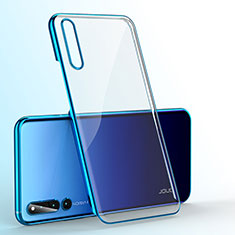 Carcasa Dura Cristal Plastico Funda Rigida Transparente H01 para Huawei Honor Magic 2 Azul