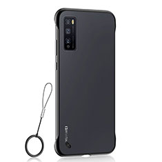 Carcasa Dura Cristal Plastico Funda Rigida Transparente H02 para Huawei Enjoy 20 Pro 5G Negro