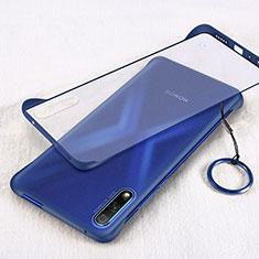 Carcasa Dura Cristal Plastico Funda Rigida Transparente H02 para Huawei Honor 9X Azul