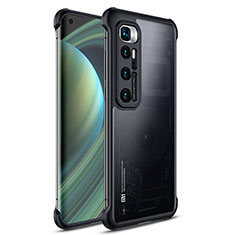 Carcasa Dura Cristal Plastico Funda Rigida Transparente H02 para Xiaomi Mi 10 Ultra Negro