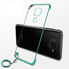 Carcasa Dura Cristal Plastico Funda Rigida Transparente H04 para Huawei Nova 5z Verde