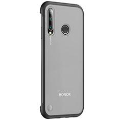 Carcasa Dura Cristal Plastico Funda Rigida Transparente S02 para Huawei Honor 20 Lite Negro