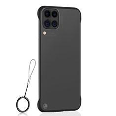 Carcasa Dura Cristal Plastico Funda Rigida Transparente S02 para Huawei P40 Lite Negro