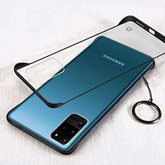Carcasa Dura Cristal Plastico Funda Rigida Transparente S03 para Samsung Galaxy S20 Ultra Negro