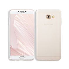 Carcasa Dura Cristal Plastico Rigida Transparente para Samsung Galaxy C9 Pro C9000 Claro