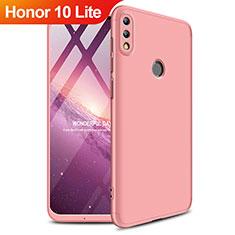 Carcasa Dura Plastico Rigida Mate Frontal y Trasera 360 Grados para Huawei Honor 10 Lite Oro Rosa