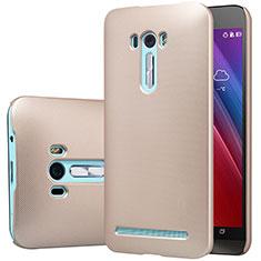 Carcasa Dura Plastico Rigida Mate M01 para Asus Zenfone Selfie ZD551KL Oro