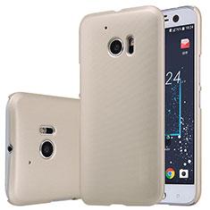 Carcasa Dura Plastico Rigida Mate M01 para HTC 10 One M10 Oro