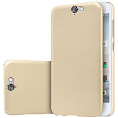 Carcasa Dura Plastico Rigida Mate M01 para HTC One A9 Oro