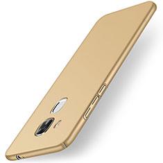 Carcasa Dura Plastico Rigida Mate M01 para Huawei G9 Plus Oro