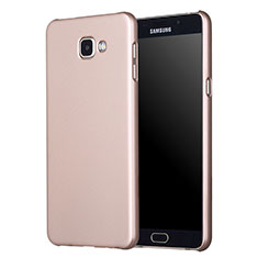 Carcasa Dura Plastico Rigida Mate M01 para Samsung Galaxy A3 (2017) SM-A320F Oro