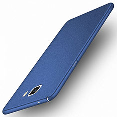 Carcasa Dura Plastico Rigida Mate M01 para Samsung Galaxy A9 (2016) A9000 Azul