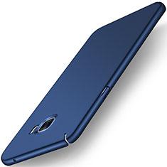 Carcasa Dura Plastico Rigida Mate M01 para Samsung Galaxy C7 SM-C7000 Azul
