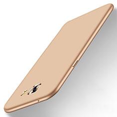 Carcasa Dura Plastico Rigida Mate M01 para Samsung Galaxy C9 Pro C9000 Oro