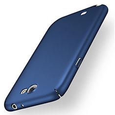 Carcasa Dura Plastico Rigida Mate M01 para Samsung Galaxy Note 2 N7100 N7105 Azul