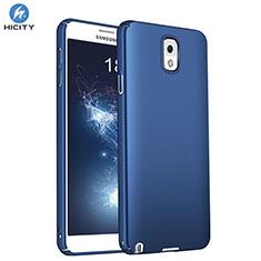 Carcasa Dura Plastico Rigida Mate M01 para Samsung Galaxy Note 3 N9000 Azul