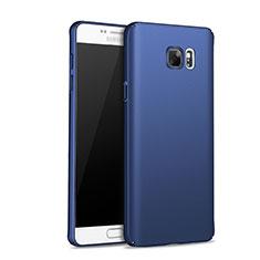 Carcasa Dura Plastico Rigida Mate M01 para Samsung Galaxy Note 5 N9200 N920 N920F Azul