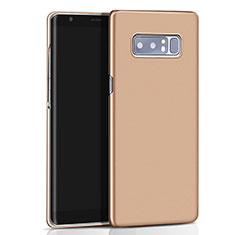 Carcasa Dura Plastico Rigida Mate M01 para Samsung Galaxy Note 8 Duos N950F Oro