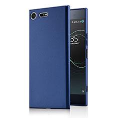 Carcasa Dura Plastico Rigida Mate M01 para Sony Xperia XZ Premium Azul