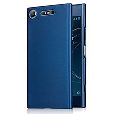 Carcasa Dura Plastico Rigida Mate M01 para Sony Xperia XZ1 Azul