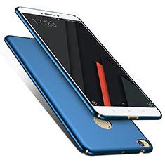 Carcasa Dura Plastico Rigida Mate M01 para Xiaomi Mi Max 2 Azul