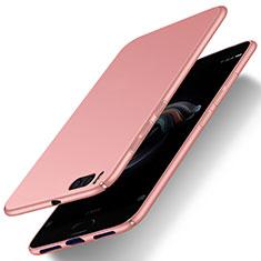 Carcasa Dura Plastico Rigida Mate M01 para Xiaomi Mi Note 3 Oro Rosa